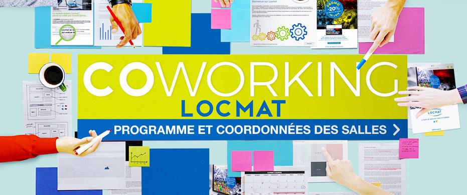 COWORKING LOCMAT. A Lille et Paris en Juin