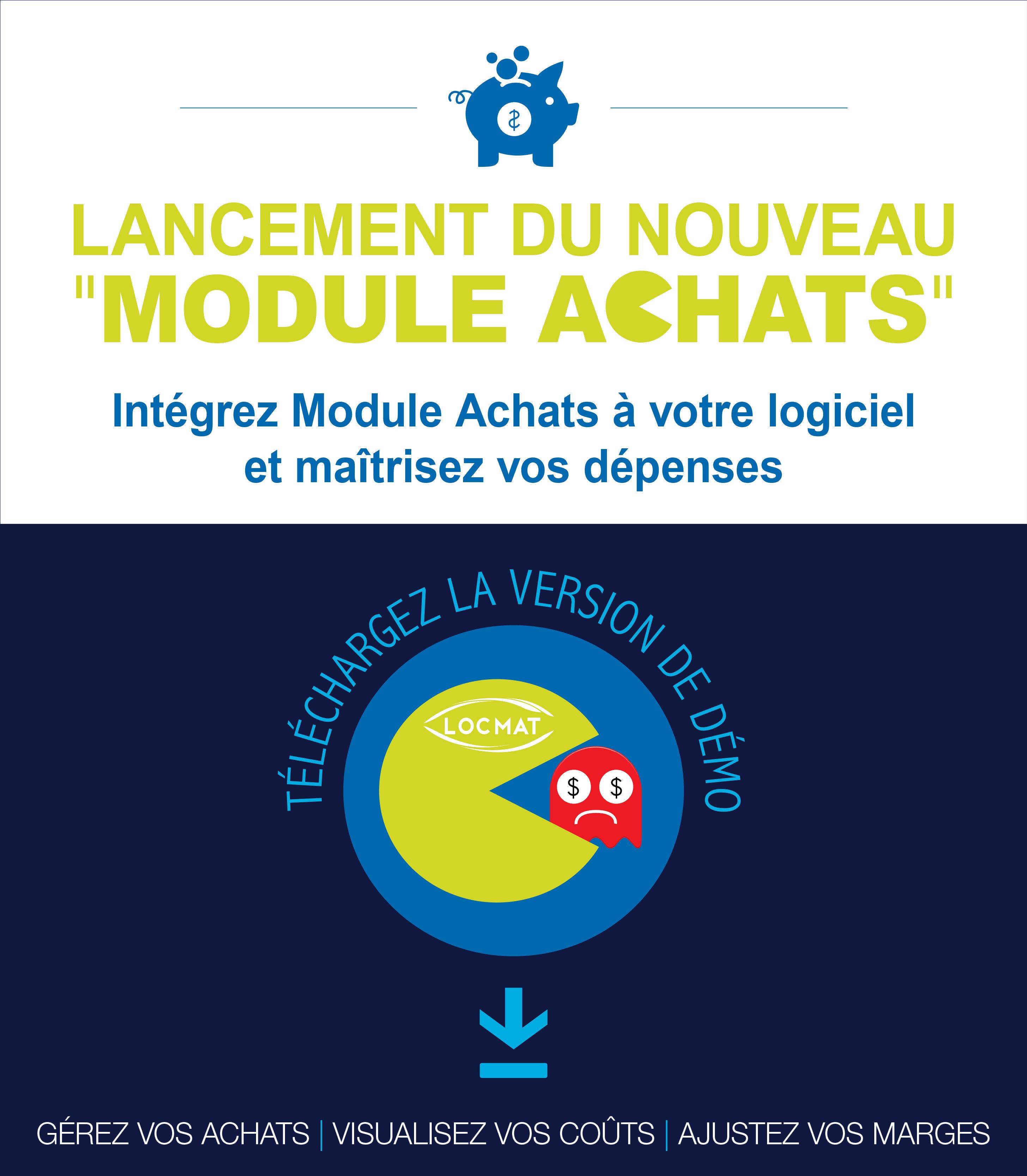 La version de démonstration du Nouveau MODULE ACHATS est disponible
