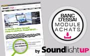 Le Module Achats testé par SoundLightUp